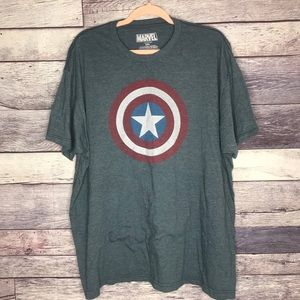 Marvel Captain America Men's Graphic Tee